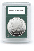 Coin World Premier Holder - 39mm / 1 oz. Silver Rounds (3-Pack)
