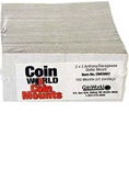 Coin World 2x2 - Gold Dollar (Case of 5000)