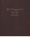 Dansco US Presidential Dollars 2007-2011 + Proofs Vol. 1 (8184)
