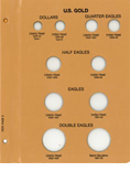 Dansco US Type Coins - Gold Page