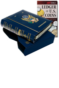 LIGHTHOUSE US PRESIDENTIAL DOLLARS ALBUM W/ FREE LEDGER OF US COINS