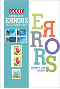 Scott Catalogue of Errors on US Postage Stamps - 16th Edition
