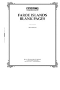 Scott Faroe Islands Blank Pages