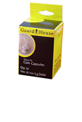 Guardhouse Direct-Fit Coin Capsule - 38.1mm / US Large Dollar (Box of 10)