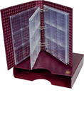 Lighthouse Grande Certified Coin Album Set - Burgundy