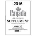 HE HARRIS CANADA SUPPLEMENT 2016