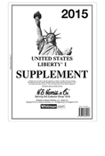 HE HARRIS LIBERTY PT.1 SUPPLEMENT 2015