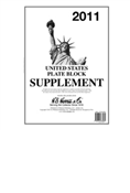 HE HARRIS PLATE BLOCK SUPPLEMENT 2011