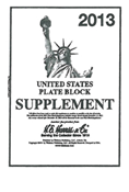 HE HARRIS PLATE BLOCK SUPPLEMENT 2013