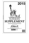 HE HARRIS PLATE BLOCK SUPPLEMENT 2015