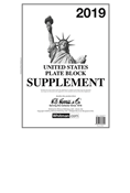 HE Harris Plate Block Supplement 2019