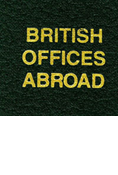LABEL: BRITISH OFFICES ABROAD