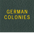 LABEL: GERMAN COLONIES