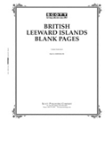 BLANK PAGES: BRITISH LEEWARD ISLANDS (20 PAGES)
