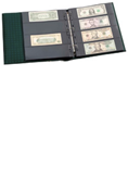 Lighthouse Small Notes Currency Album - Green