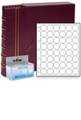 Lighthouse US Small Dollar Capsule Album Set - Burgundy