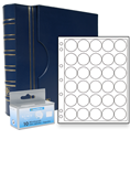 Lighthouse US Half Dollar Capsule Album Set - Blue