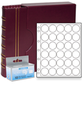 Lighthouse US Half Dollar Capsule Album Set - Burgundy