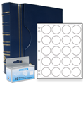 Lighthouse US Silver Dollar Capsule Album Set - Blue