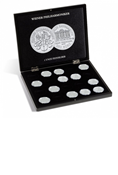 Wood Presentation Case for Silver Philharmonic Coins