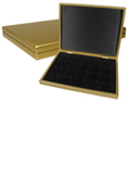 Lighthouse Quadrum 2x2 Presentation Case - Gold