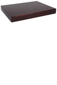 Lighthouse Quadrum 2x2 Presentation Case - Mahogany