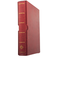Lighthouse Vario Binder and Slipcase - Red