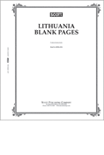 Scott Lithuania Blank Pages