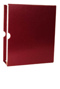 Minkus 3-Ring Binder Slipcase - Maroon