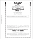 MINKUS ALL-AMERICAN PT. 4: BOOKLET PANES 2012