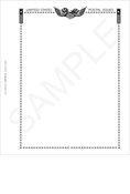 Minkus All-American Postal Issues Blank Pages