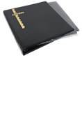 Scott Mint Sheet Binder & 25 Black Pages - Black