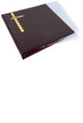 Scott Mint Sheet Binder & 24 Clear Pages - Burgundy