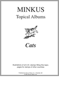 MINKUS TOPICAL ALBUM PAGES: CATS (6 PAGES)