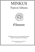 MINKUS TOPICAL ALBUM PAGES: FLOWERS (18 PAGES)