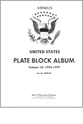 MINKUS US PLATE BLOCKS VOL. 10