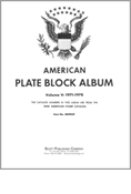 MINKUS: US PLATE BLOCKS VOL. 5 PAGES 1971-1978 (111 PAGES)