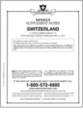 MINKUS: SWITZERLAND 2011 SUPPLEMENT (6 PAGES)