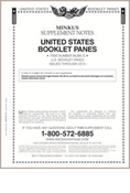 MINKUS: US BOOKLET PANES 2015 (3 PAGES)