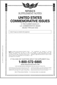 MINKUS: US COMMEMORATIVES 2002 SUPPLEMENT (13 PAGES)