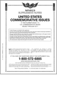 MINKUS: US COMMEMORATIVES 2011 (9 PAGES)