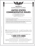 MINKUS: US COMMEMORATIVES 2012 (11 PAGES)