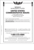 MINKUS: US COMMEMORATIVES 2016 (8 PAGES)