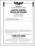 MINKUS: US REGULAR ISSUES 2001 SUPPLEMENT