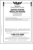 MINKUS: US REGULAR ISSUES 2011 (9 PAGES)