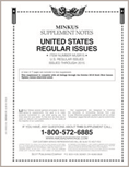 MINKUS: US REGULAR ISSUES 2015 (8 PAGES)
