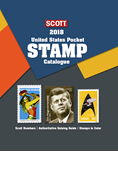 2018 Scott U.S. Stamp Pocket Catalogue