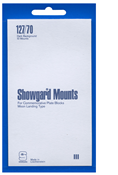 Showgard 70x127 Stamp Mounts - Black