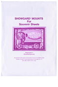 Showgard 76-171 Assorted Stamp Mounts - Black