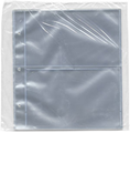 Supersafe Cover Page - 2 Pocket / Clear (10-Pack)